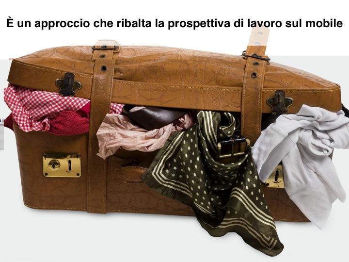 mobile first: la metafora della valigia piena