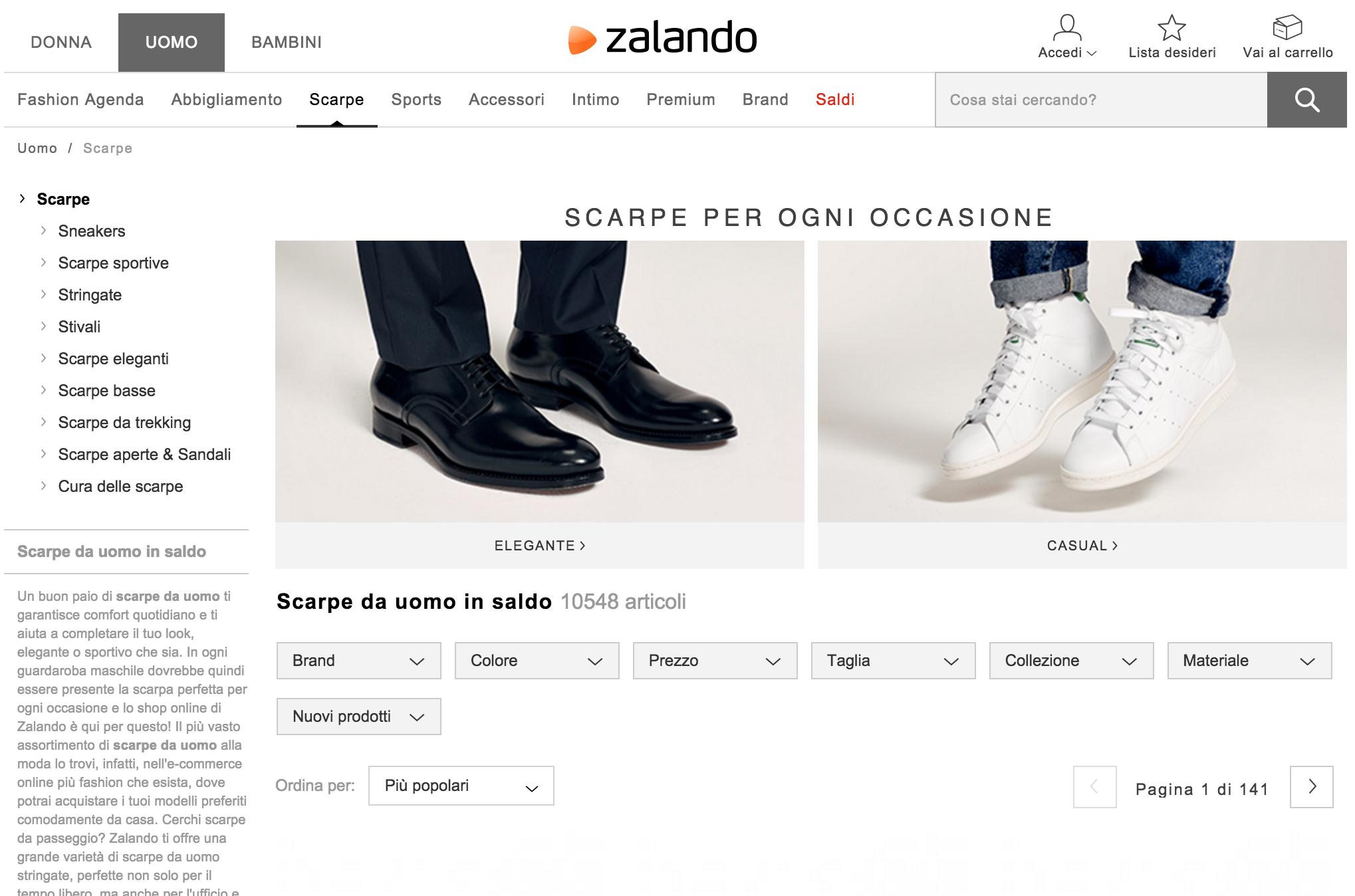 zalando-category-page